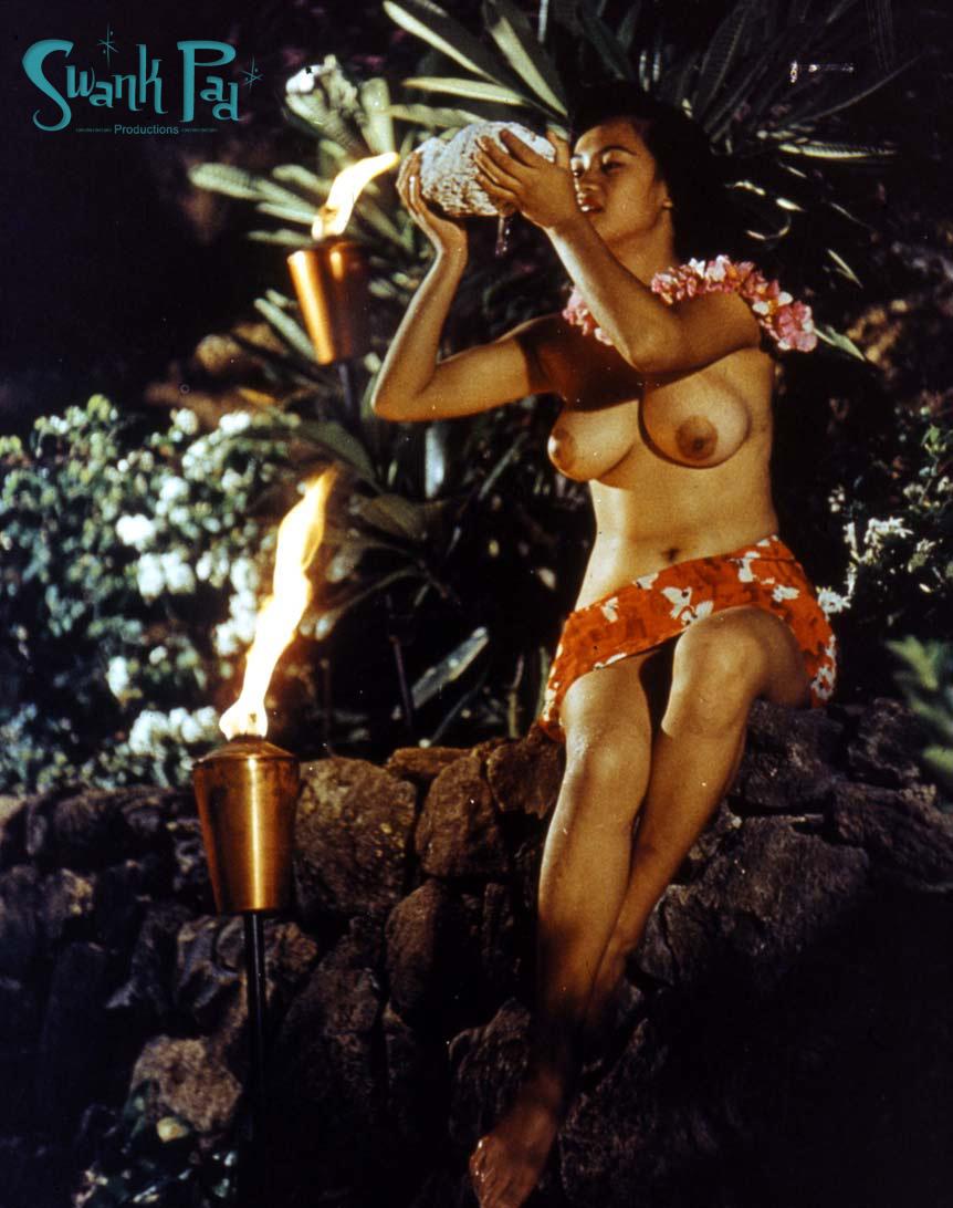 Hawaiian naked woman souvenir nutcracker aloha hawaii
