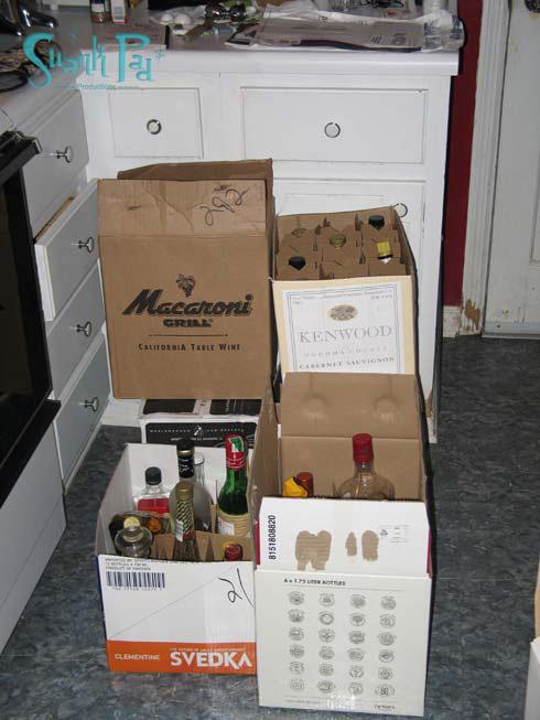 liquor boxes