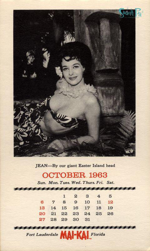 Mai Kai Calendar Girls 1963