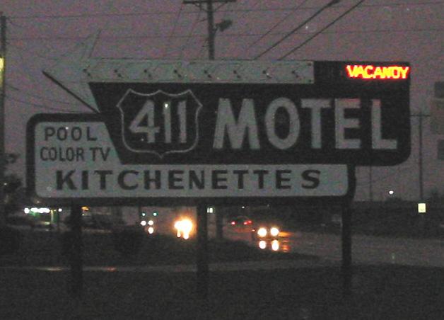 Vanishing 1950s America Highway 411 Tennessee