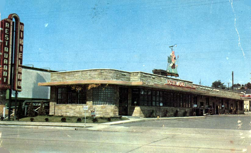 Dixieland Restaurant 4931 Kingston Pike Home Of En In The Rough Which Miss Opal Tells Me Was Just A Basket
